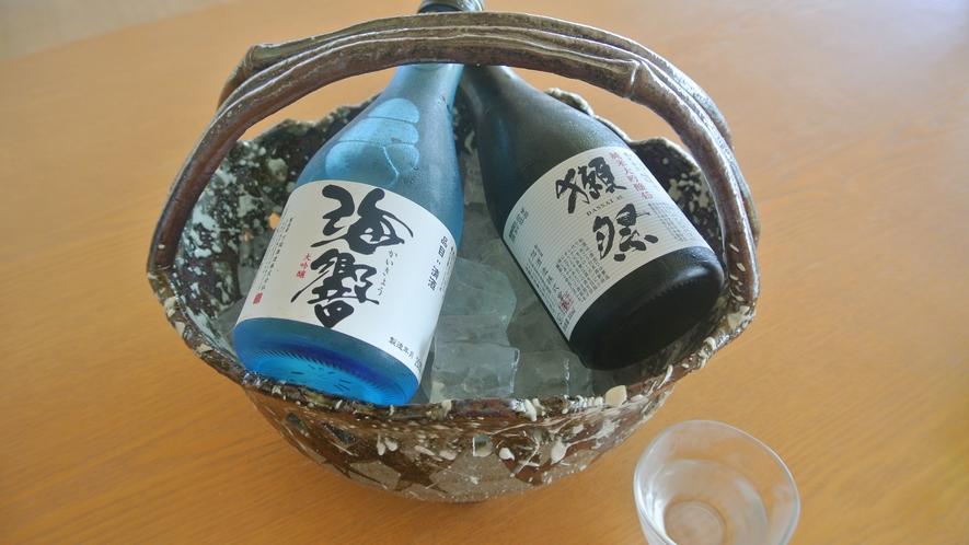 【ドリンク一例】山口と言えば!の地酒「獺祭」や「海響」など各種ご用意しております。