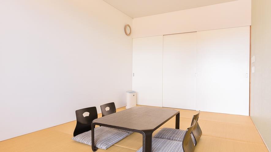 *【客室一例:和室7.5畳】4名様までご利用頂ける7.5畳の和室。