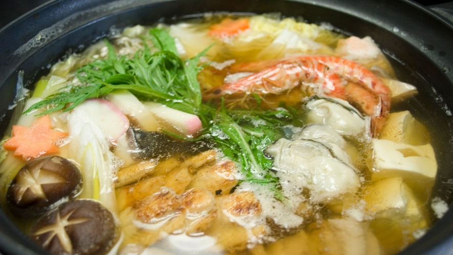 *【菊水鍋】ほっこり温かいお鍋が嬉しいですね♪
