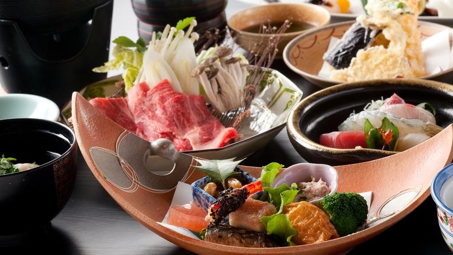 *【冬の会席一例】厳選された食材で一流の本格会席をお召し上がりください。