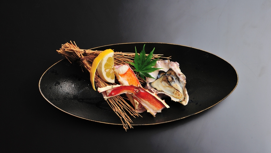 お料理一例~海鮮グリル~
