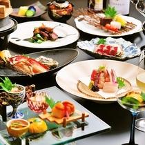 料理長がおすすめする、最高級食材を惜しみなく使用したワンランク上のお食事をお楽しみ下さい