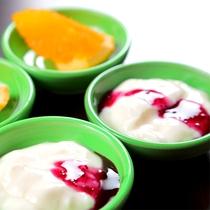 ◆朝食デザート◆