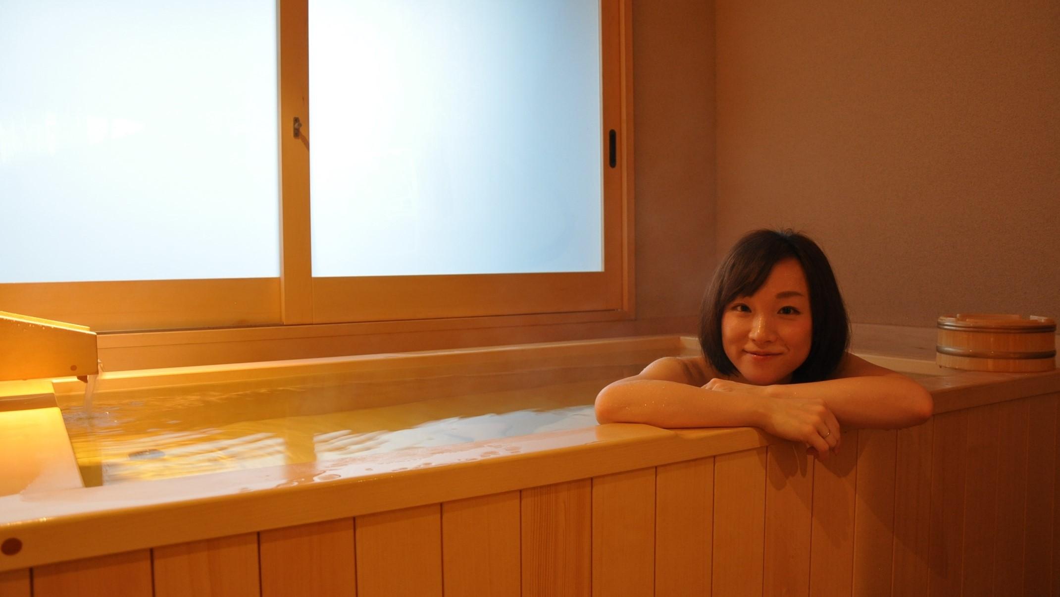 貸切風呂は6種ございます