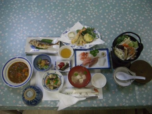 コシヒカリと自家製野菜が自慢!1泊2食付♪和室でおくつろぎプラン♪