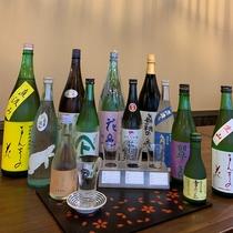 *秋田の地酒3種のみ比べ