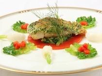 お魚料理の例