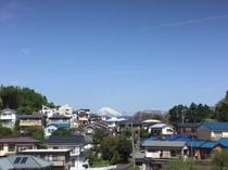 伊東からも富士山が見えます。