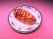 自家製ホットドッグの一例