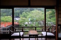 橋本屋旅館からの眺め