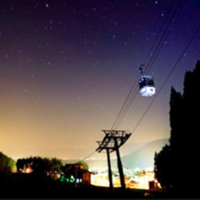 <ナイトゴンドラツアー> +゜澄んだ空気の中、満点の星空と出会う☆ 無料送迎バス徒歩2分!【2食付】
