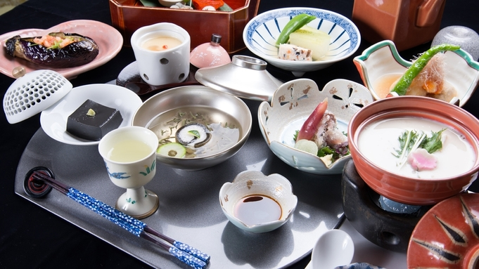 【スタンダード】◇京風茶会席で愉しむ四季の味覚に舌鼓◇