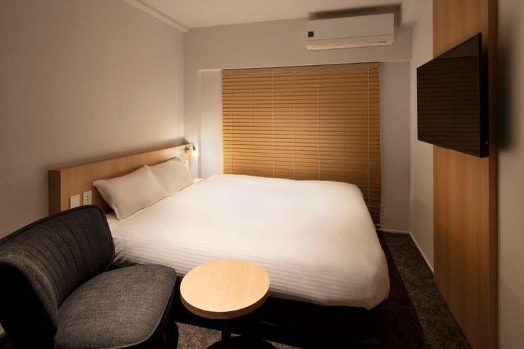ダブルルーム 日本ベッド 160cm × 200cm