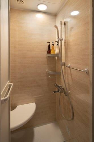 全客室・イス付のシャワーブース