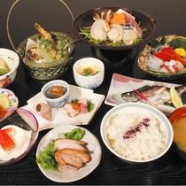 """*【お食事例】レストラン""""古宮""""にてご用意するお食事。"""