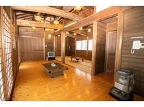 Bタイプ:和室10.5畳1間+居間(和室と居間、仕切りなし)★間取り例★