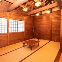 [Bタイプ]和室10.5畳1間+居間(和室と居間、仕切りなし)・間取り例