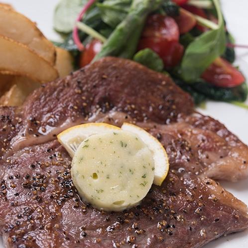 【レストラン】洋食ディナー ステーキ