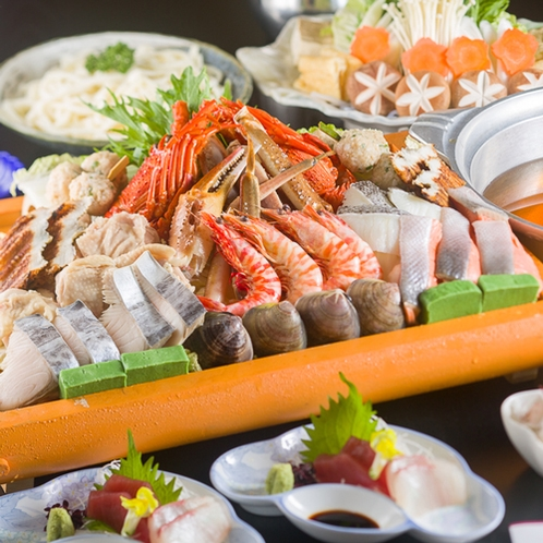 【日本海】上寄せ鍋