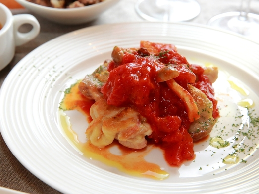 新【創作イタリアン】いちばん人気☆鹿児島産黒豚・薩摩地鶏・地魚☆3種のメインからおまかせ♪