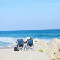 【美しい景色】のんびりビーチ気分