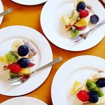 【デザート】ランチのデザートは日替わりでお楽しみです♪