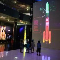 【美しい景色】宇宙センター!展示館