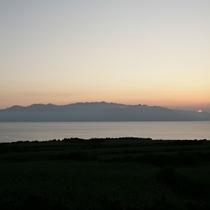 【美しい景色】種子島から眺める屋久島