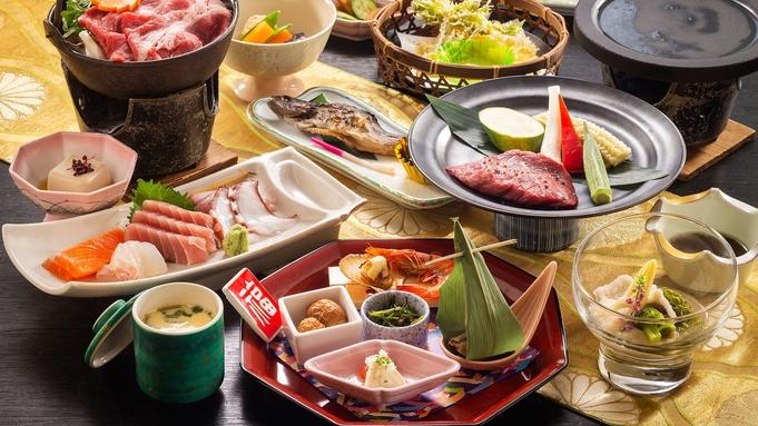 【七沢グルメ会席と選べるお鍋】≪A5国産牛ヒレステーキ≫も付いてボリューム&ランクUP♪