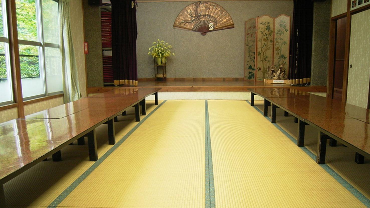 *大広間/大人数で使用できる、大きめの広間もございます。