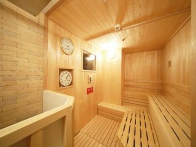 3階展望大浴場併設サウナ室
