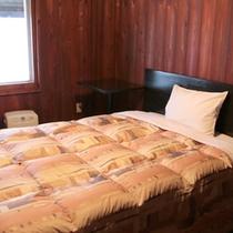 *【客室例】ワンベッドルーム。ベッドサイズはダブルです。