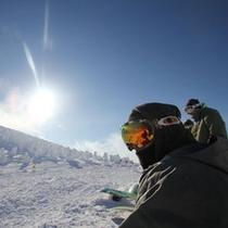 *【スノボ】スキー・スノボを楽しむための施設は当館内にも充実♪