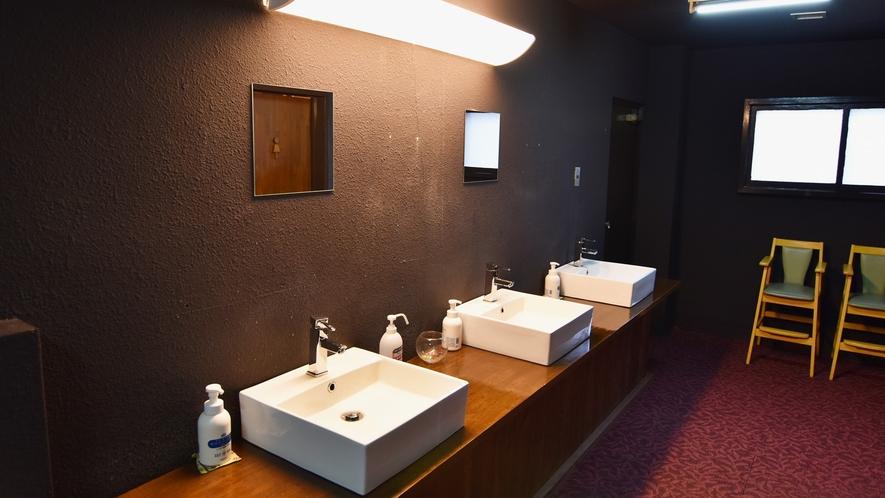 *【館内】 洗面所も常に清潔に心掛けております