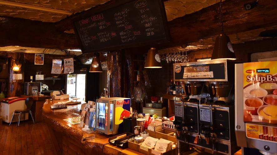 *【バー】レストランにはバーカウンターがあり、昼夜問わず多くのお客様に御利用頂いてます♪