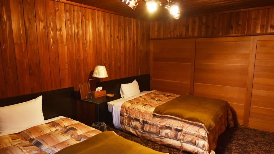 *【客室例】ツインベッドルーム 4名様までご利用頂けます。