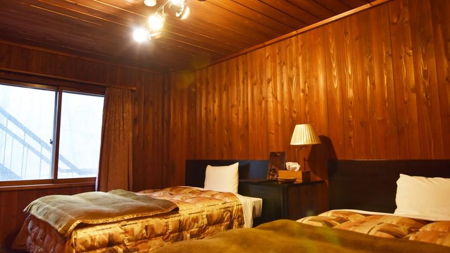 *【客室例】ツインベッドルーム 昼は思いっきり遊び、夜はお部屋でゆっくり寛いでください