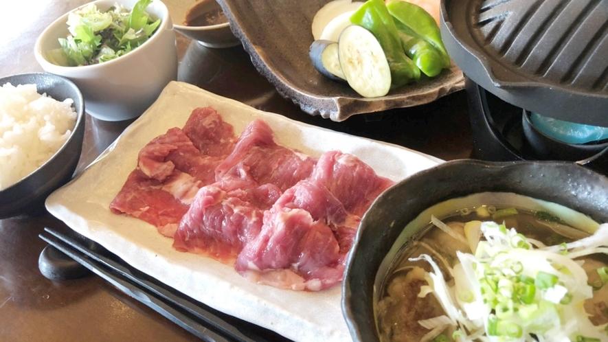 *【夕食例】蔵王名物ジンギスカン&山形芋煮セット