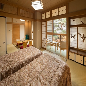 新館和室221 8帖+8帖 広縁