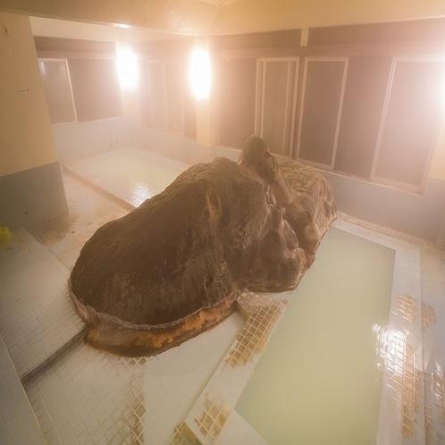岩風呂 夜