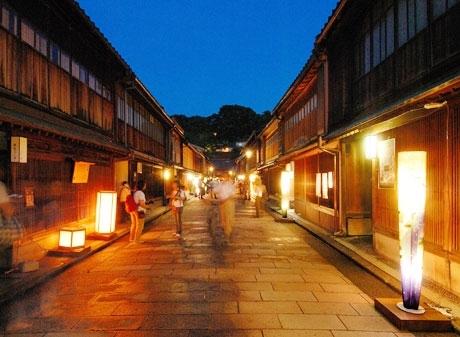 ■観光:ひがし茶屋街