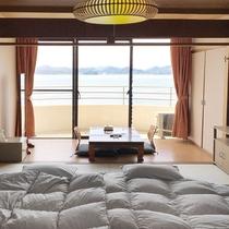 【和室】広縁付で広々♪海を眺めてのんびりお寛ぎください。