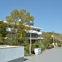 自然に囲まれた岩城島の温泉、三洋倶楽部へようこそ♪