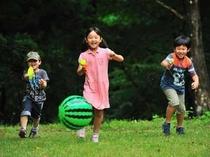 7. お子様たちも「のびのび」と遊べます。