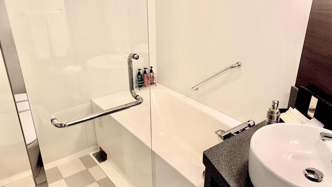 【無料アップグレード】開業8周年記念 シャワーブース付バスルーム完備ダブルルーム宿泊プラン≪朝食付≫