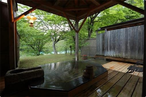個室露天風呂付き