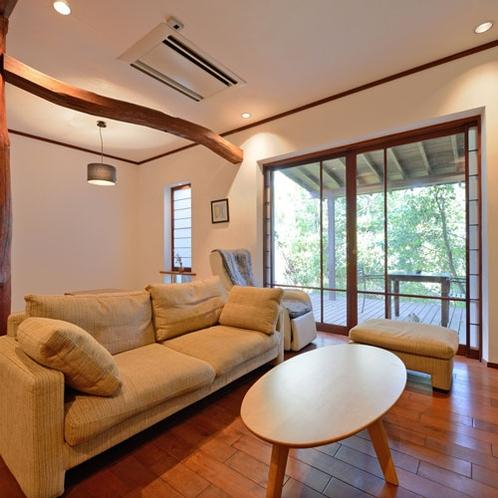 *【かりん】67.74平米/ダークトーンの落ち着いた色合い。小上がりの和室がございます。