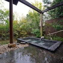 *【ひめしゃら】石造りの露天風呂