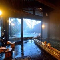 *【大浴場・男湯】とろとろの泉質が自慢の温泉。大人数で一緒にご利用の場合はこちらをどうぞ!