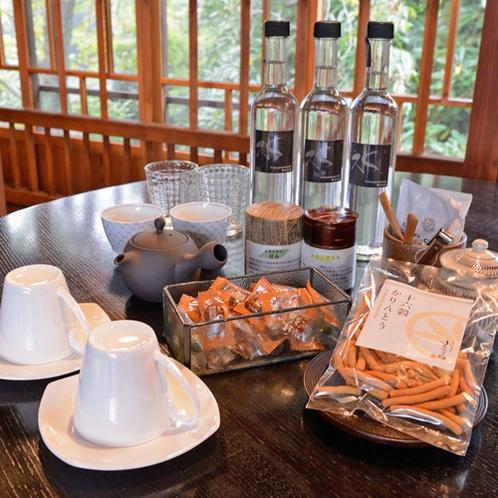 *【お茶セット】オーガニックティーや自然の美味しさいっぱいの素朴なおやつ